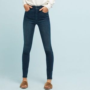 Anthropologie -Pilcro Ultra High Rise Skinny Jeans